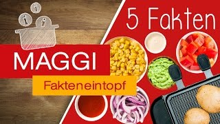 Unsere Tipps für euer Raclette: Saucen & Dips + Gemüse & Obst | MAGGI Fakteneintopf