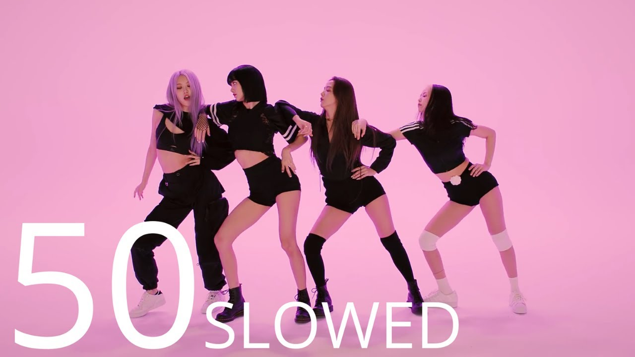 Download BLACKPINK - How You Like That DANCE [MIRRORED & 50% SLOWED]