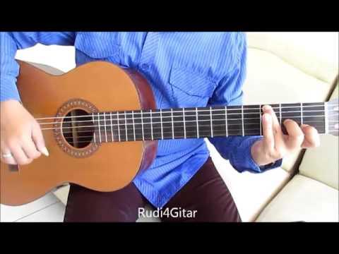 Belajar Kunci Gitar Judika Mama Papa Larang Intro