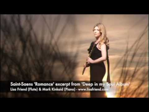 Saint Saens Romance Op 37 for flute and piano - Lisa Friend (flute)