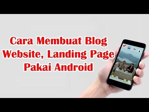 cara-membuat-blog,-website,-landing-page-menggunakan-android