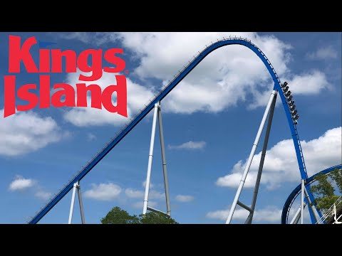 Kings Island Full Park Walk Through with The Legend
