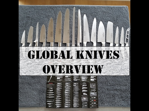 Global Knives Overview and Review. Which 3 Should I Buy Firs