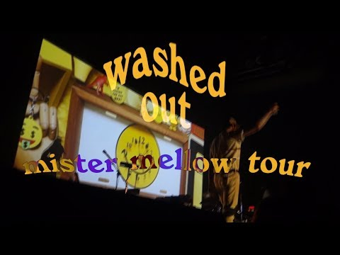 Washed Out LIVE // Mister Mellow tour highlights // mosh pit POV // 9:30 Club in DC
