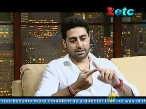 Komal Nahta with Abhishek Bachchan