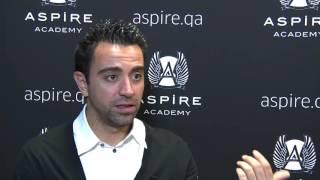 Interview with Xavi after Marca Leyenda Award Ceremony [Spanish]