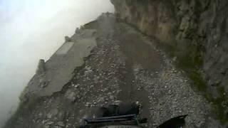 via del sale 2011 la strada nella roccia.... dedicato a chi soffre di vertigini !!!