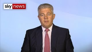 Brandon Lewis: How no deal would affect Britain's security