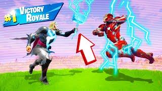 WINNING Using ONLY SUPERHERO Weapons! (Fortnite)