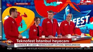 Teknofest için geri sayım başladı. Türkiye Teknoloji Takımı 24 TV'de