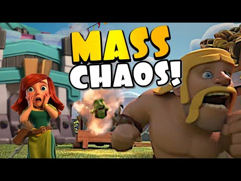THIS IS CHAOS!! But INSANELY FUN!! Clash Masters League TH13 Tournament | Clash of Clans