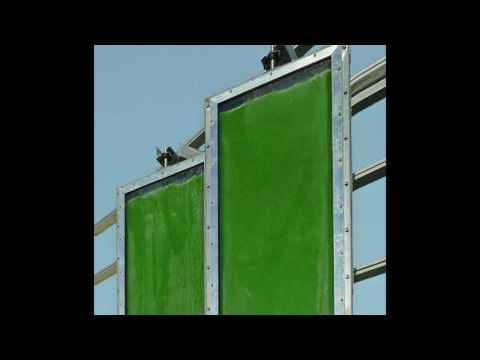 World-first...construction of an algae-powered building!