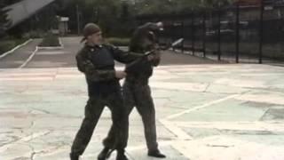Наподение с ножом(Владимир Авилов. Представлена программа по рукопашному бою с учетом специфики задач подразделений спецназ..., 2013-10-14T15:10:50.000Z)