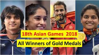 18th Asian Games 2018 || Gold Medal Winners || Motto || Mascot || Venue ||