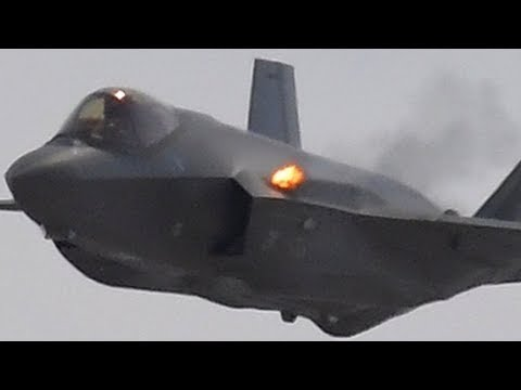 F-35 Lightning Jet 25mm Cannon Firing! GAU-22 Equalizer