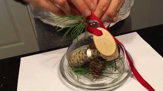 Jak zrobić stroik, dekorację na Boże Narodzenie.