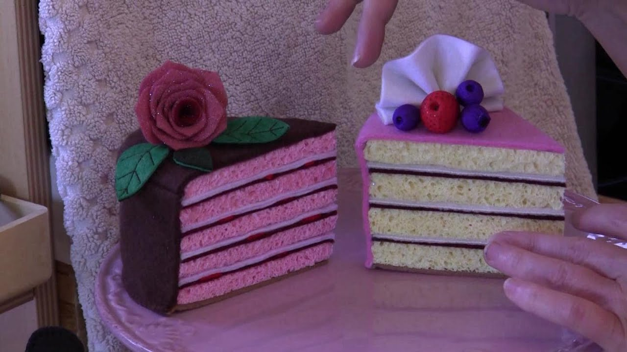 Felt Cake Tutorial With Lisa Pay Includes Free Pattern