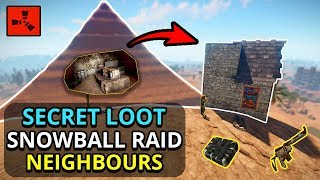Gambar cover I Found SECRET LOOT In The GIANT PYRAMID, So I Could RAID MY RICH NEIGHBOURS! - RUST SOLO