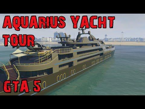 AQUARIUS YACHT TOUR │ GTA 5