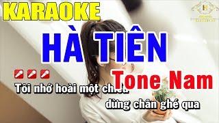 Karaoke Hà Tiên Tone Nam Nhạc Sống | Trọng Hiếu