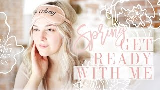 GET READY WITH ME FOR SPRING | MAKEUP & OUTFIT | I Covet Thee | AD