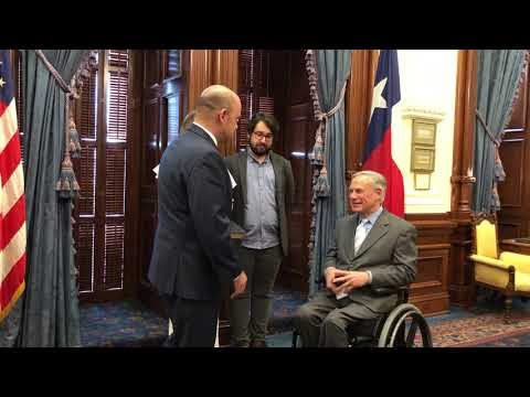 Nolan Perez UT System Board Of Regents Swearing In Ceremony With Governor Abbott