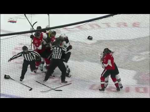 Turris Hunts Down Vlasic After Harassing Karlsson