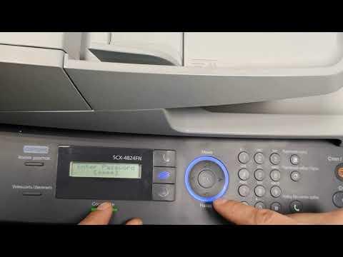 Сброс счетчика Samsung SCX 4824FN