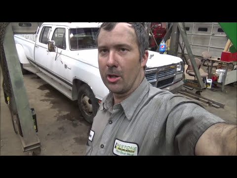 Dodge First Gen Cummins Suspension Rebuild D350 4000lb Axle Youtube