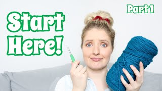 Watch this BEFORE y๐u learn to crochet! | How to Crochet For Total Beginners | Part 1