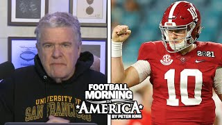 King's Mock Draft: Why Dots Connect Mac Jones To SF | Peter King | NBC Sports