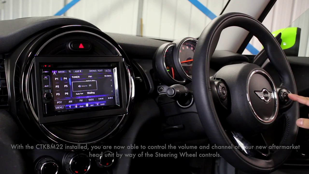 Bmw Mini 2014 Integration Kit Youtube