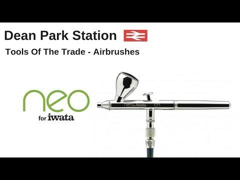 Iwata Neo Airbrush for Modelling & Model Railways | Dean Park 207
