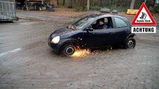 Kann man mit 4 platten Reifen fahren? | Dumm Tüch