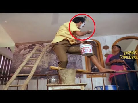Rajendra Prasad Movie Funny Painting Comedy Scene | Super Hit Movie Scenes | Express Comedy Club