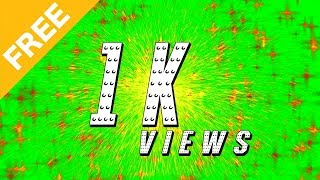 Star Fireworks Sound Effect Green Screen Animation ►(MultiVerse Studio)