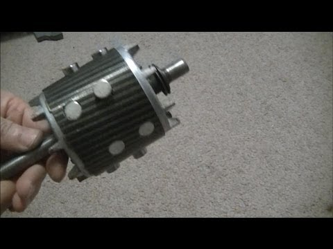 Convert Induction Motor Into A Generator Youtube