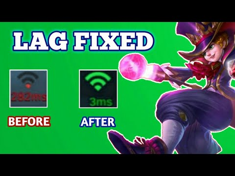 How To Fix Lag In Mobile Legends (2020)