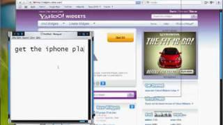how to download yahoo widgets