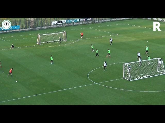 Hocamız Sergen Yalçın'ın antrenmanda oynanan turnuva maçında attığı jeneriklik güzel gol
