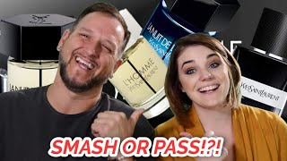 SEXIEST YSL FRAGRANCES FOR MEN | SMASH OR PASS YSL COLOGNES | SMELL & RATE W/ SAMANTHA!