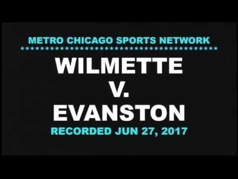 Wilmette baseball v Evanston 06 27 17
