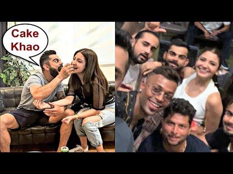 Virat Kohli And Wife Anushka Sharma Celebrate India Test Series Win Against Australia