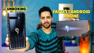 ASUS ROG Phone 3🎮 - Unboxing & Hands On💪 | SD 865+ | 6000 mAh | India's Fastest Android Smartphone🔥