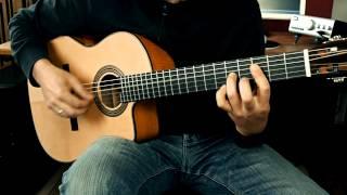 Cordoba Fusion 14 Maple - Demo Part 1 - Fingerstyle