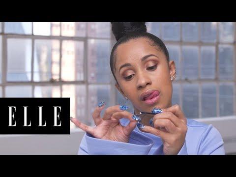 Watch Cardi B's 90 Second Makeup Routine | ELLE