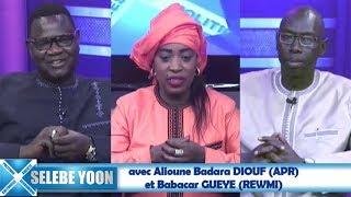 Selebe Yoon avec Alioune Badara DIOUF (APR)  et Babacar GUEYE (REWMI)