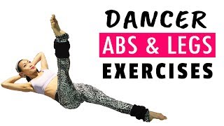 6 Minute ABS Workout - At Home Abs & Legs Exercises (Footwork Friday)
