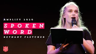 Bethany Fletcher (Spoken Word) - Live at Amplify 2020