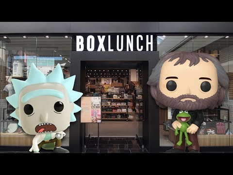 Huge Funko Pop Hunt at The Mall!
